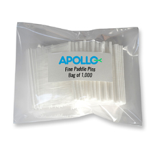 Apollo Fine Pins 15mm Clear
