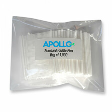 Apollo Standard Pins Pack Of 1,000 19mm