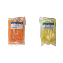 3.6 X 140mm Cable Ties Orange