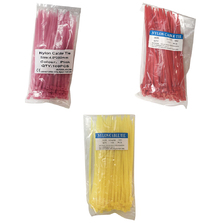4.8 X 200mm Cable Ties Red
