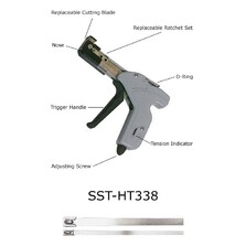 SST-HT338 Stainless Steel Cable Tie Tool