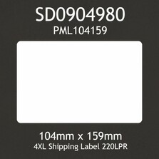 Dymo SD0904980 4XL Compatible Shipping Label (1 Roll)