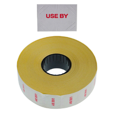 'Use By' Freezer Grade 20x16mm Labels
