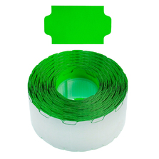 Fluoro Green Permanent 32x19mm Labels - CPGL030